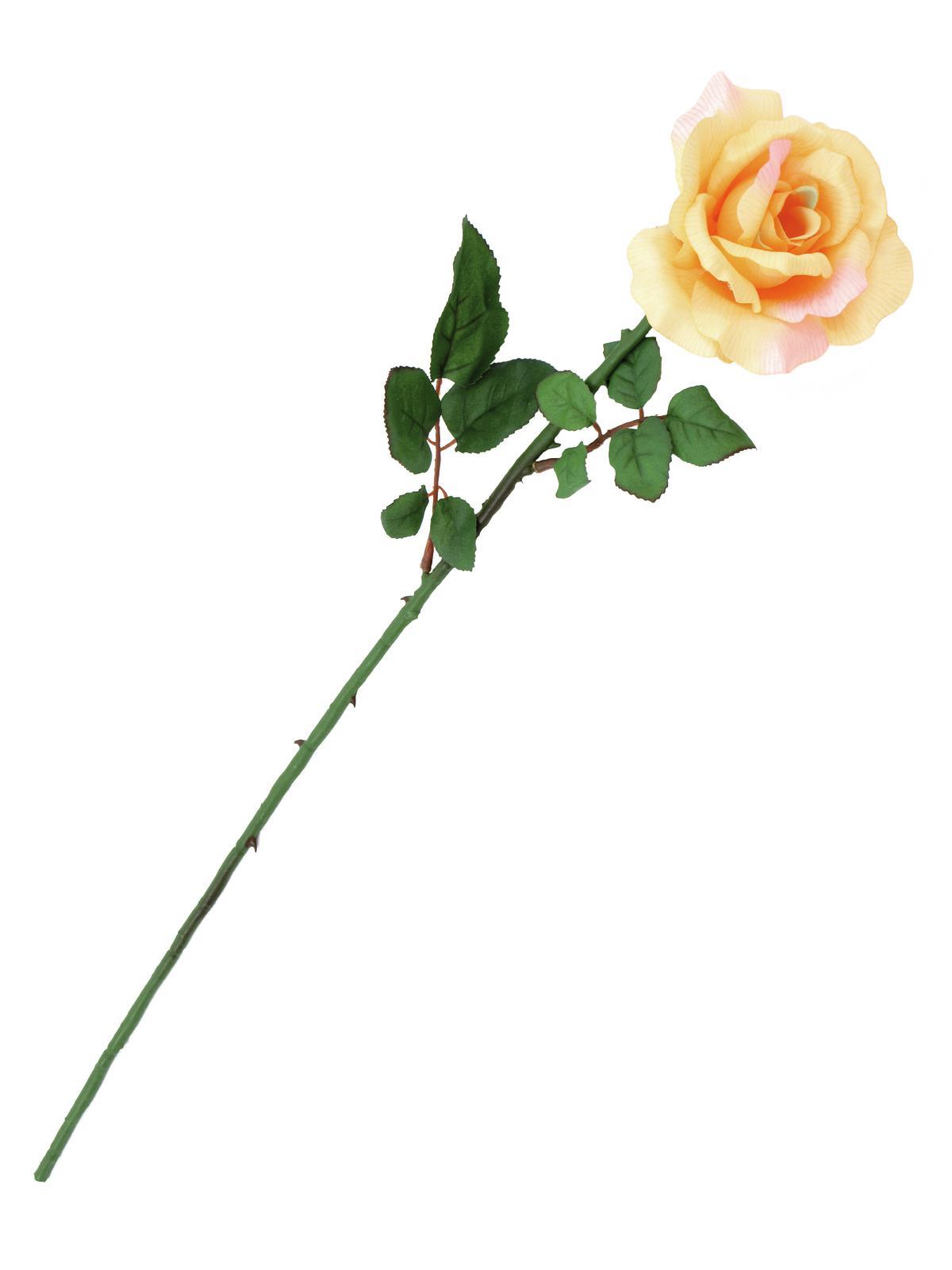 Image of   Kunstig Rose, Creme