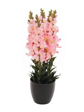 Kunstig Antirrhinum, rosa, 65cm