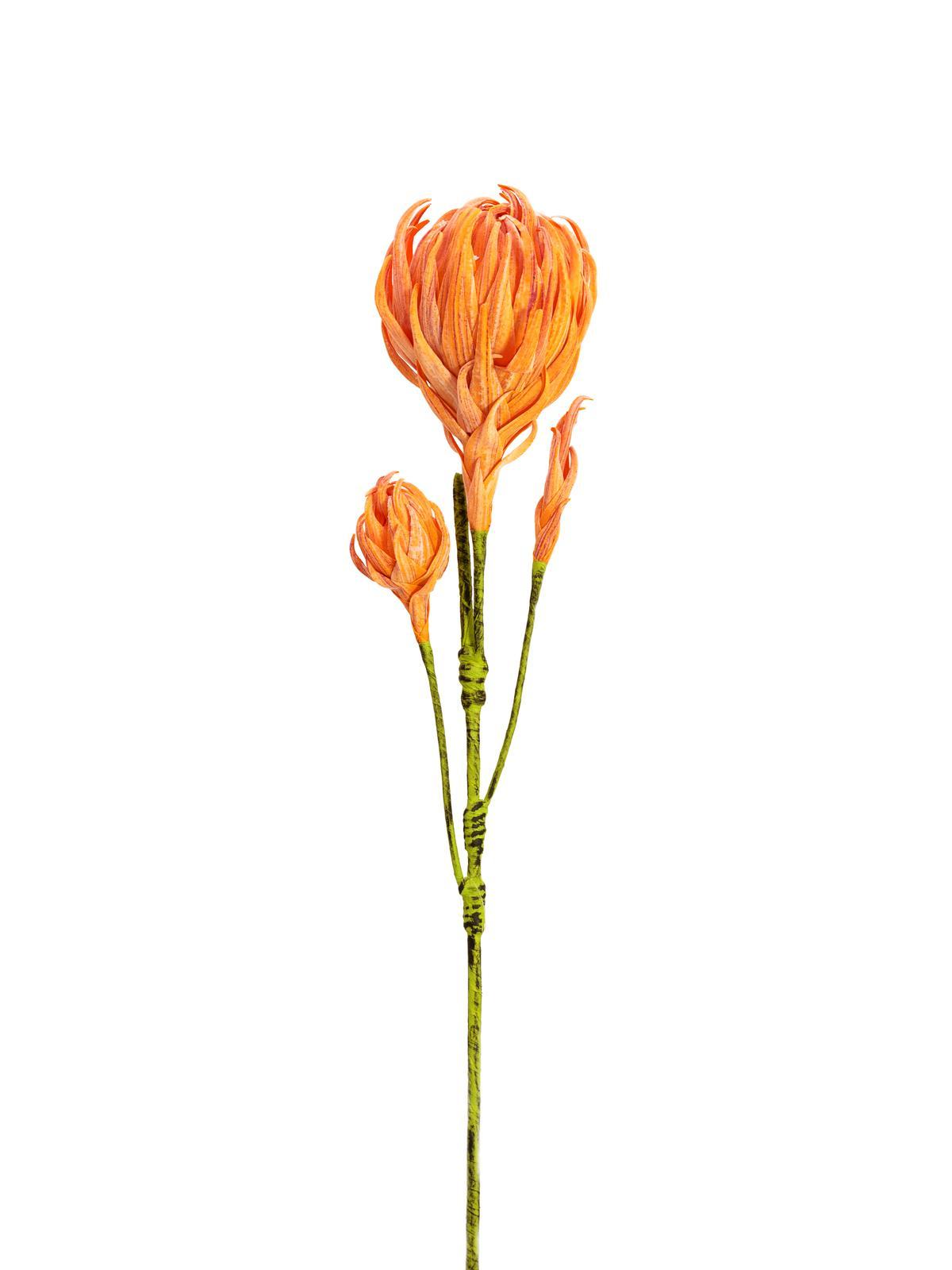 Image of   Kunstig Georgine Gren, Orange