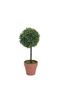 Image of   Kunstig Grass ball tree, PE, 39cm