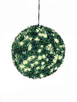Billede af Europalms Boxwood ball with warm-white LEDs, 40cm