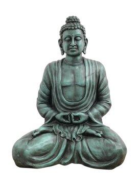 Billede af Buddha, antique-black, 120cm