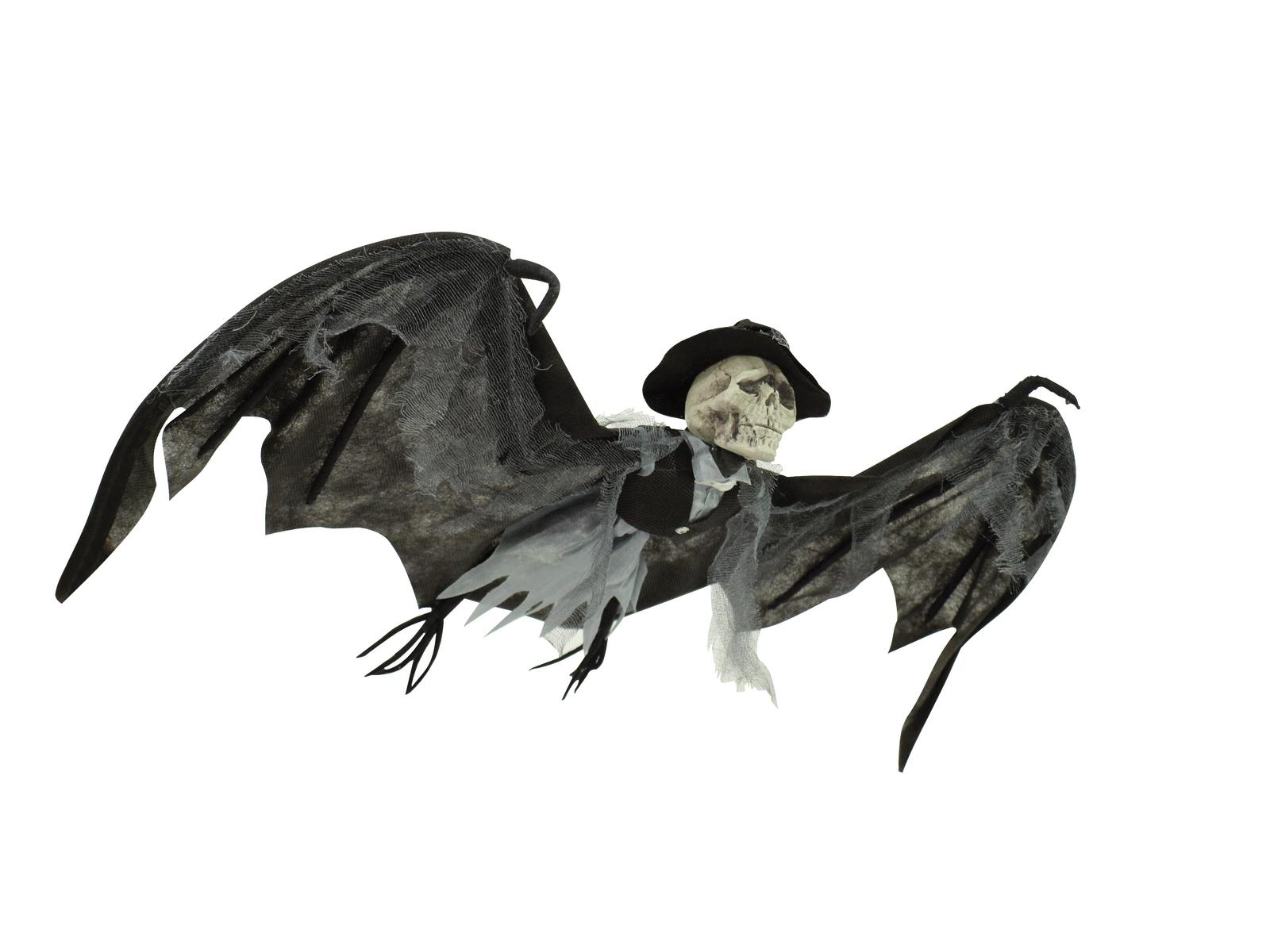 Image of   Halloween flagermus gom, 90 cm