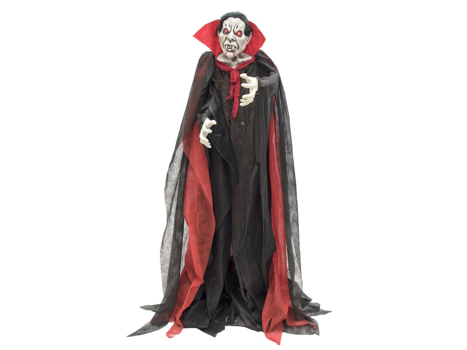 Halloween animeret vampyr, stående, 180 cm