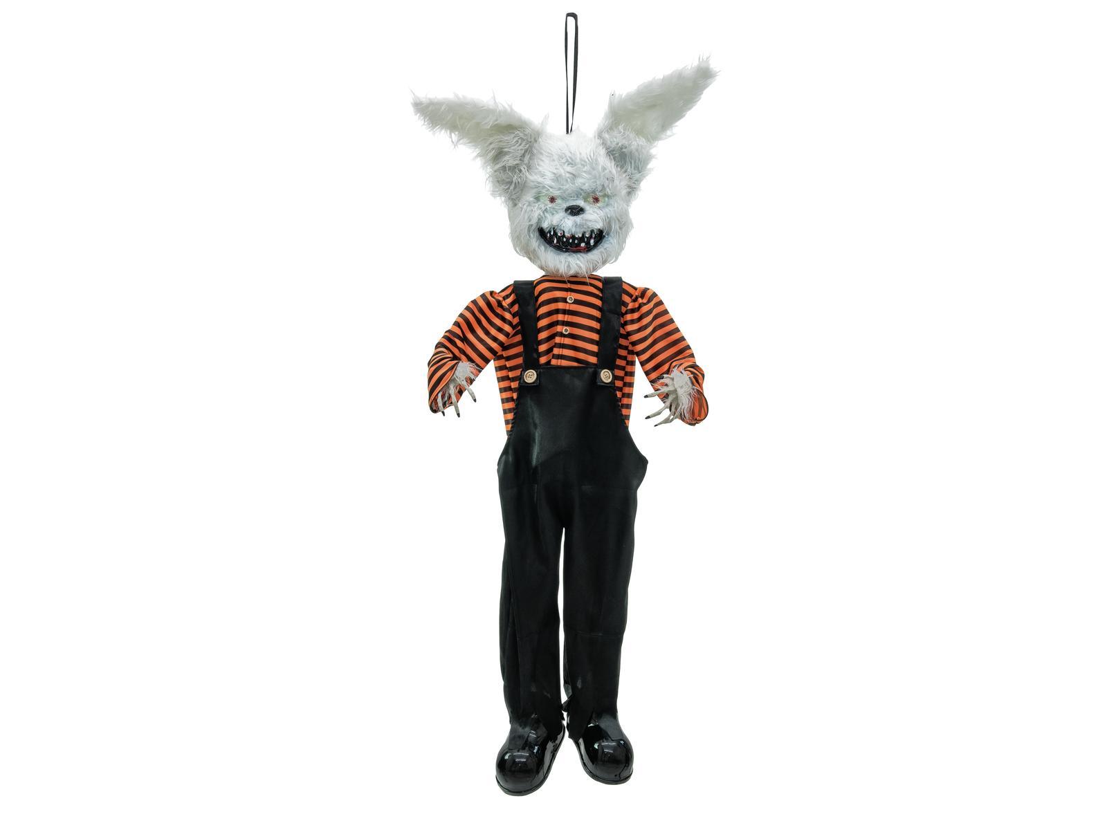 Image of   Halloween animeret ondskabens kanin