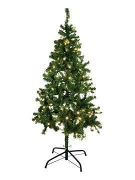 Christmas tree, illuminated, 210cm