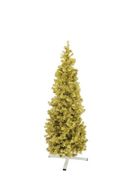 Fir tree FUTURA, gold metallic, 180cm