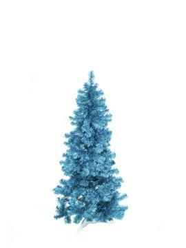 Billede af Fir tree FUTURA, turquoise metallic,180cm