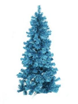 Billede af Fir tree FUTURA, turquoise metallic,210cm