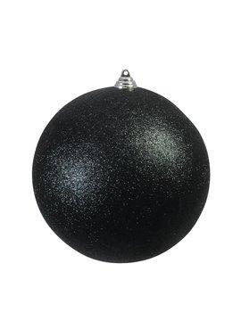 Billede af Deco Ball 20cm, black, glitter