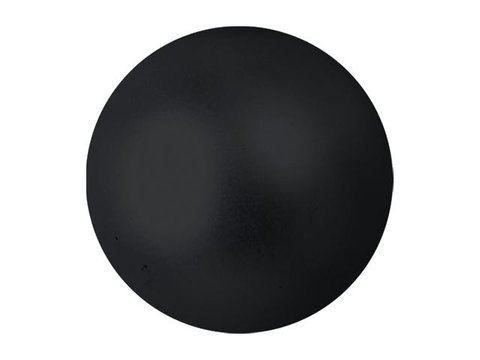 Billede af Europalms Deco Ball 6cm, black, metallic 6x