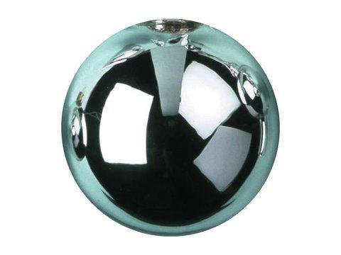Billede af Deco Ball 6cm, light blue, shiny 6x