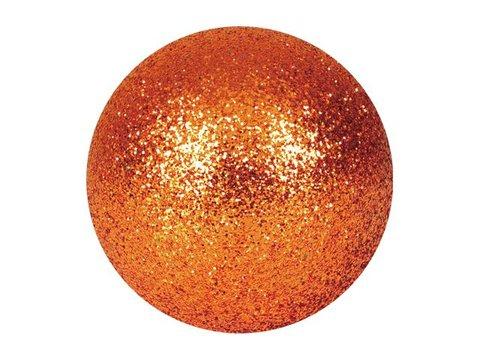 Billede af Deco Ball 3,5cm, copper, glitter 48x