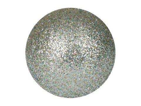Billede af Deco Ball 3,5cm, silver, glitter 48x