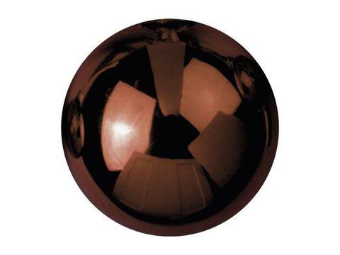 Billede af Deco Ball 3,5cm, brown, shiny 48x