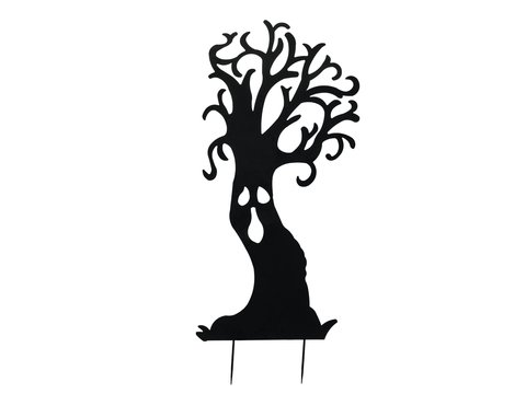 Silhouette Metal Ghost Tree, 150cm