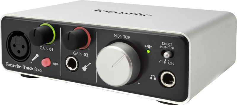 Image of   Focusrite iTrack Solo | Lightning