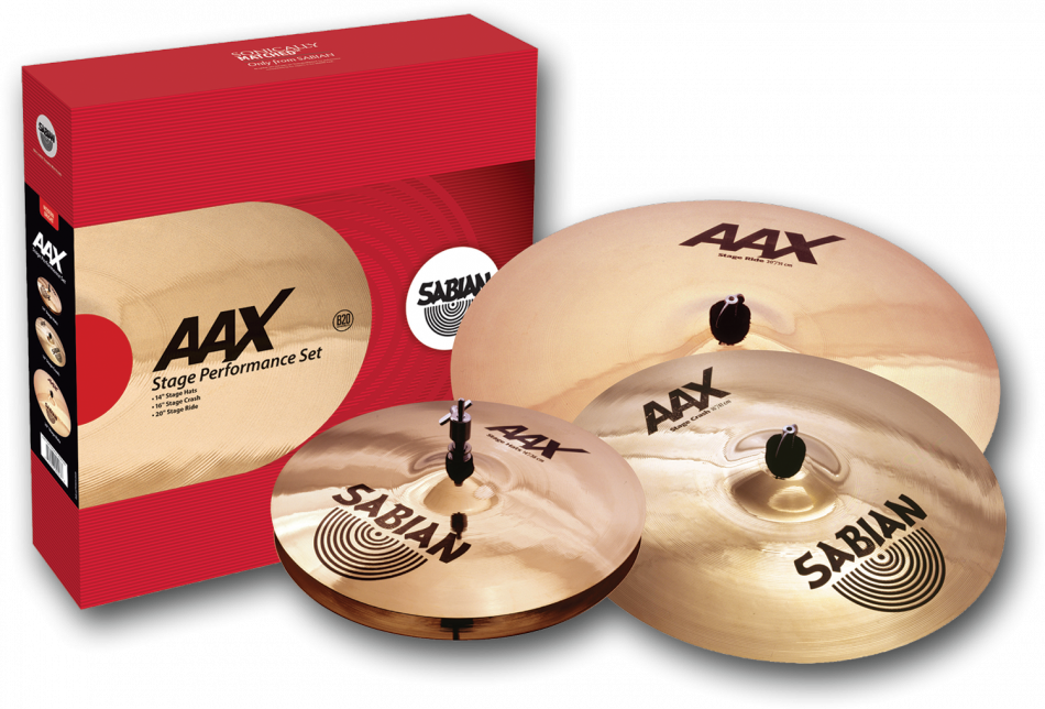 Sabian AAX Stage Performance Set Bækkenpakke