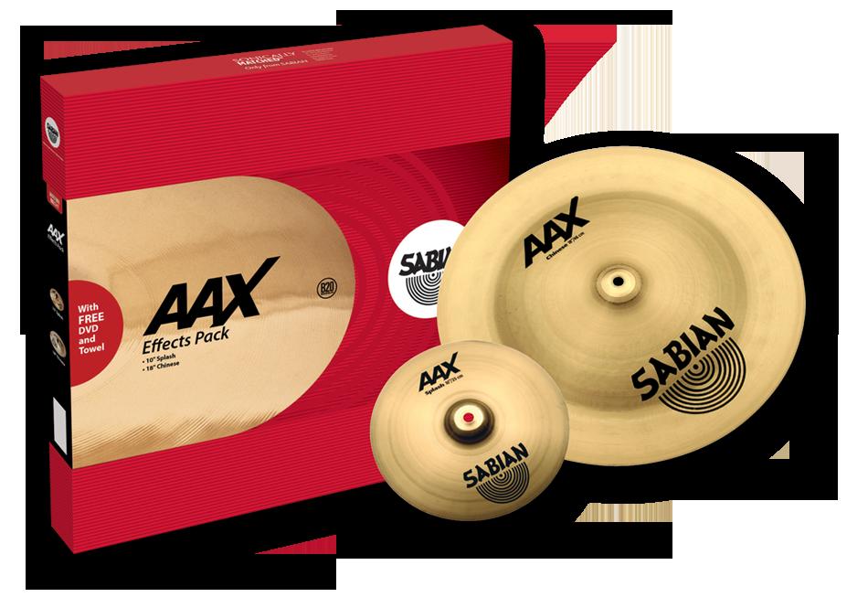 Sabian AAX Effects Pack Bækkenpakke