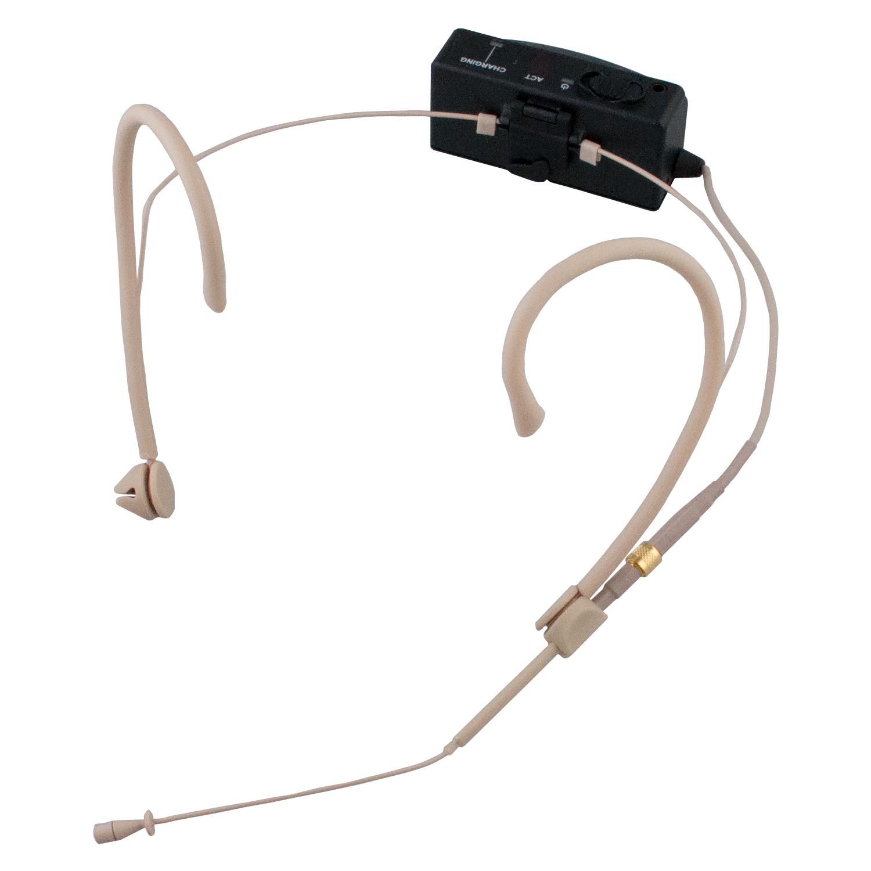 Mipro ultra miniature sender med MU23 headset mikrofon