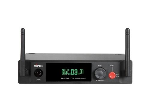 Image of   Mipro Digital modtager 1 kanaler 2,4 GHz