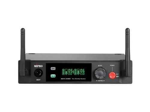 Image of   Mipro Digital modtager 2 kanaler 2,4 GHz