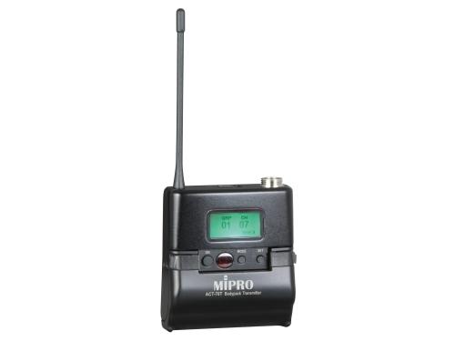 Mipro lommesender metal 8B frekvens 850 til 874 MHz