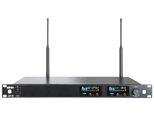 Mipro wideband modtager 2-kanals frekv. 482-554MHz