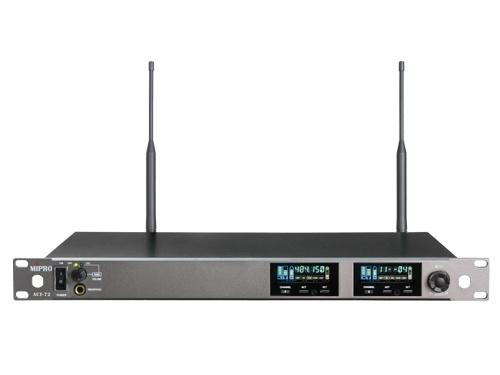Mipro wideband modtager 2-kanals frekv. 554-626MHz