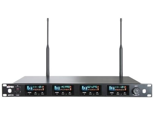 Mipro wideband modtager 4 kanal frekv. 482-554MHz