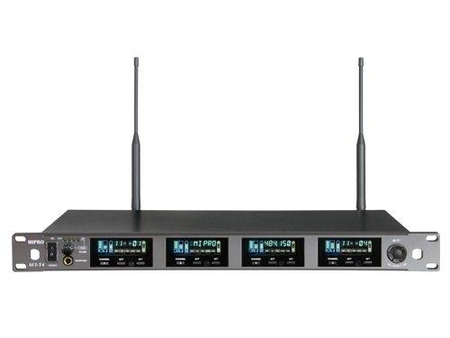 Mipro wideband modtager 4 kanal frekv. 718-790MHz