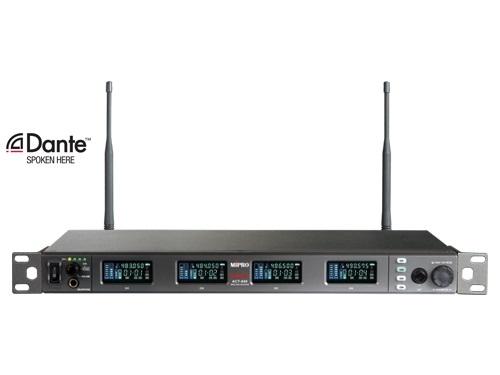 Mipro Trådløs mikrofon modtager 2 kanal frekv. 636 - 700 MHz