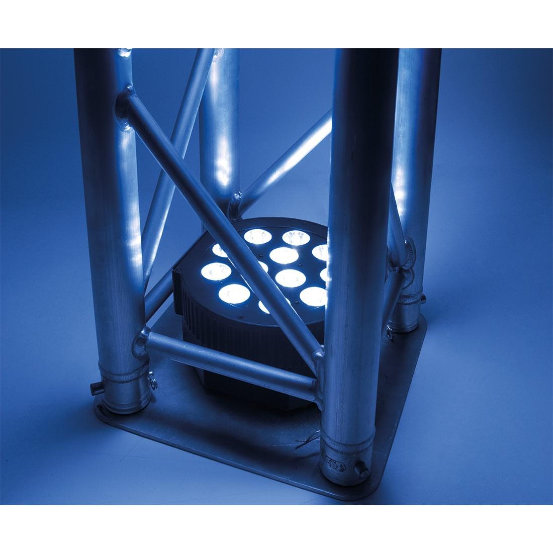 adj 12p hex led lampe med uv k b online her. Black Bedroom Furniture Sets. Home Design Ideas