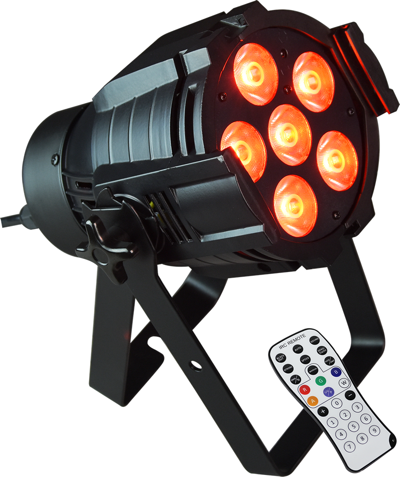 Image of   AFX Par LED RGBW 6 x 8 watt