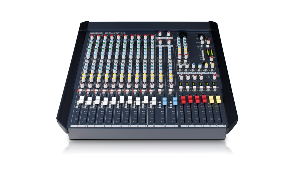 Image of   A&H Wizard 4 14:4:2 Mixer 10 Mic/line & 2 stereo