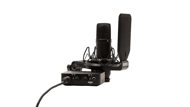 Image of   Røde NT1 Studio mikrofonsæt og Audio Interface Ai-1