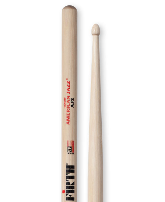 Image of   Vic Firth American Jazz AJ2 trommestikker