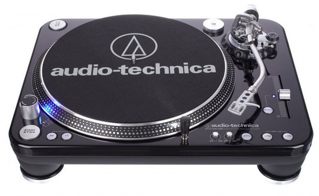 Image of   Audio-Technica AT-LP1240USB pladespiller