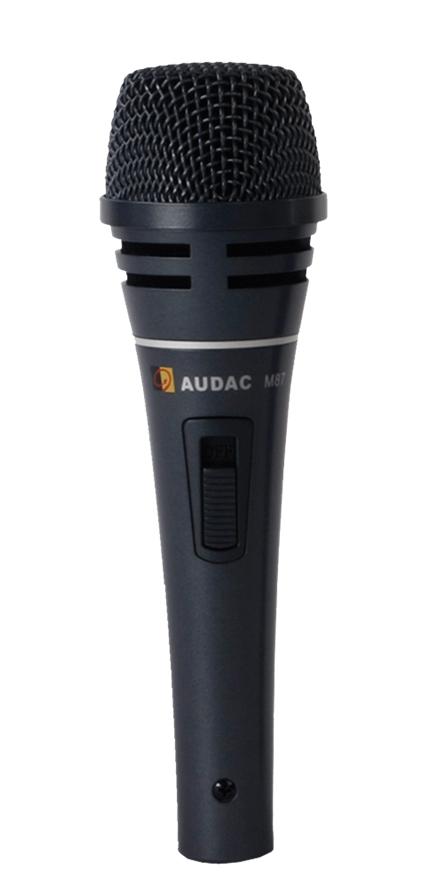 Audac M87 Dynamisk mikrofon m/switch