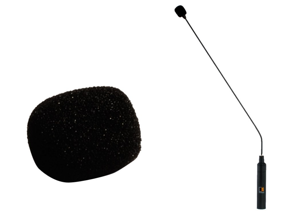 Audac MWS200 vindhætte til CMX200 mikrofon, Sort