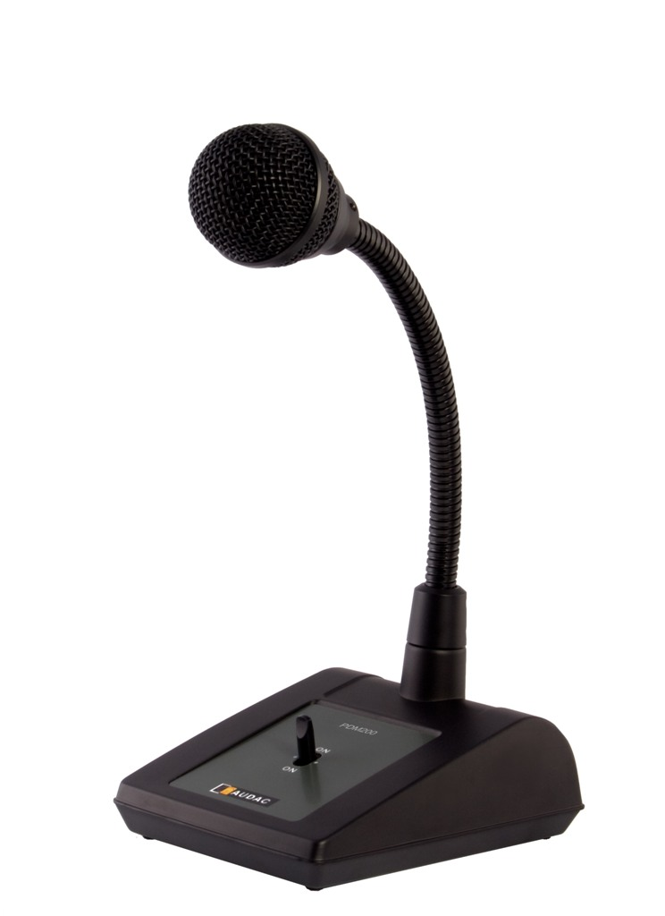 Audac Paging Microphone m/switch