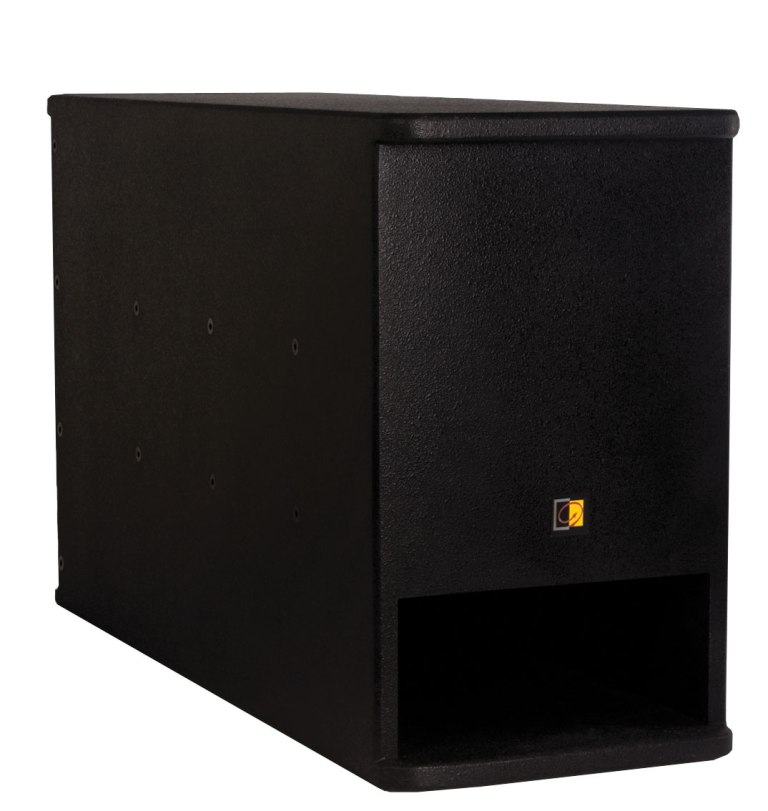"Image of   Audac SX408 Subwoofer passiv 8"", 150W, sort"