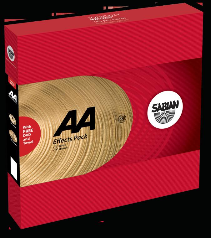 Sabian AA Effects Pack Bækkenpakke
