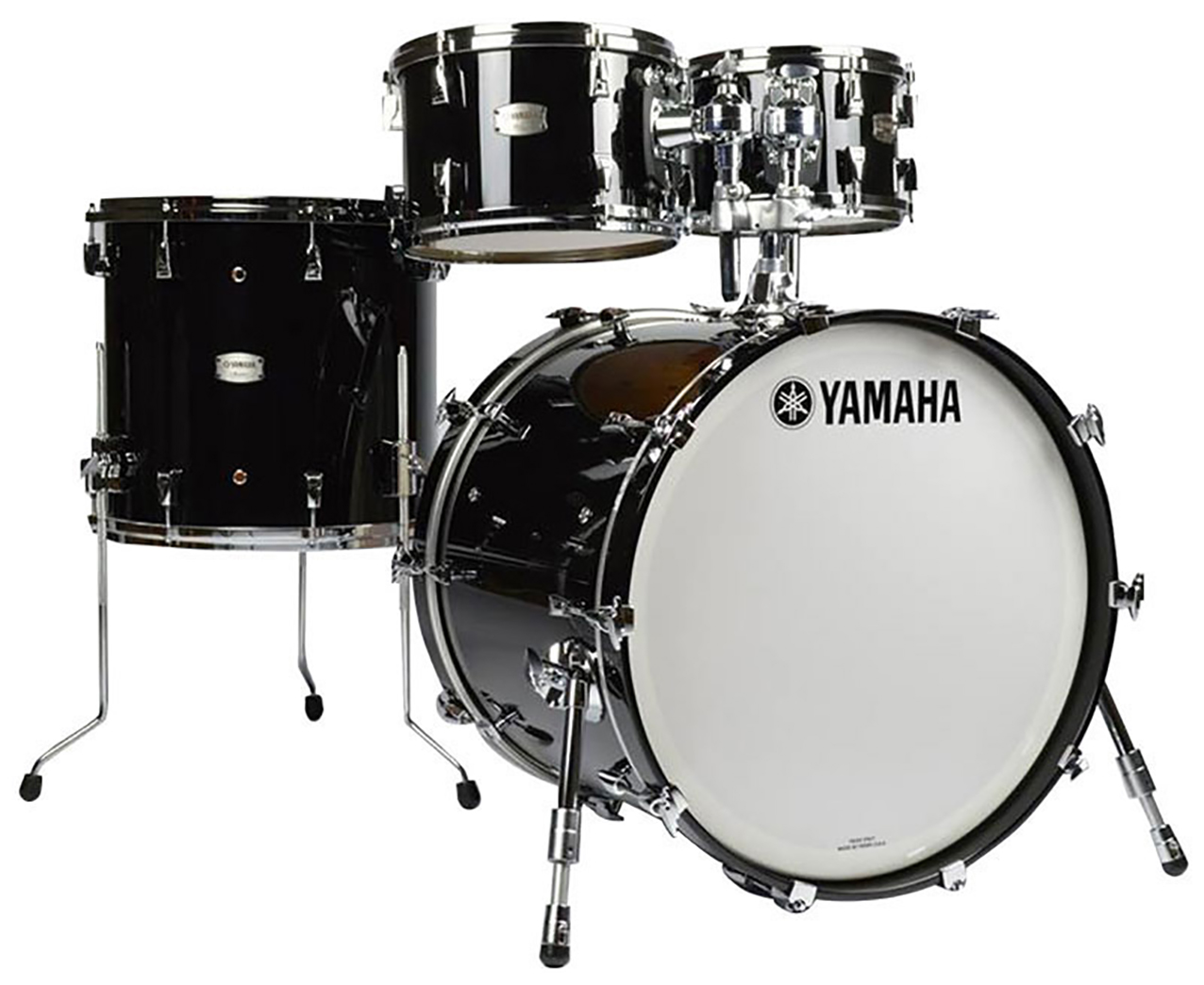 Image of   Yamaha Absolute Hybrid Maple Standard Drumset, SOB