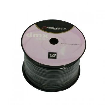 Image of   Accu-Cable 100 meter DMX Kabel På Rulle 5 ledere