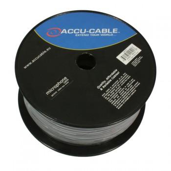 Image of   100 meter XLR mikrofonkabel på rulle/Rund Sort