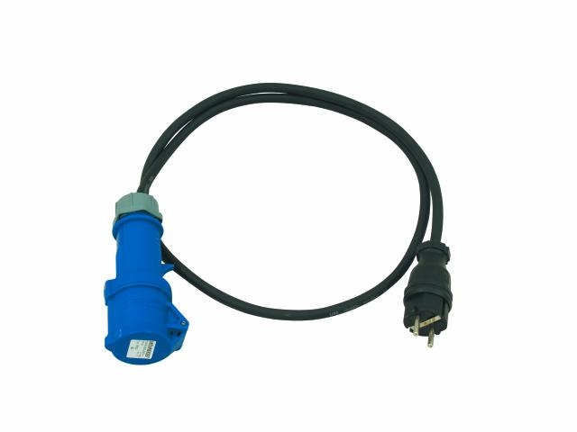 Image of   CEE Schuko CEEK Adapter kabel 3x2,5mm 10 meter
