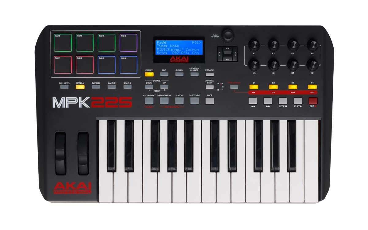 Image of   Akai MPK 225