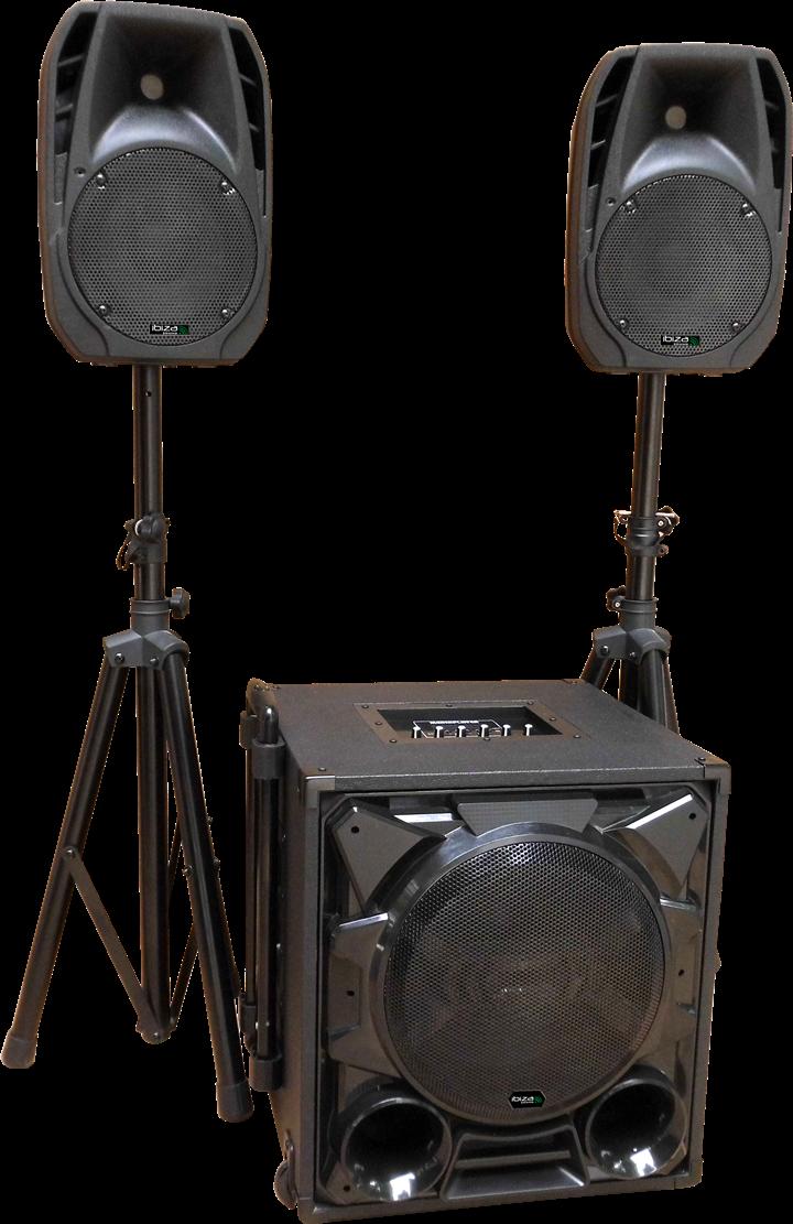 Aktivt højttaler system 1100 Watt