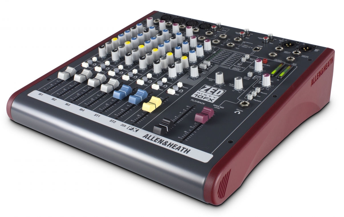 Image of   Allen & Heath ZED60-10FX